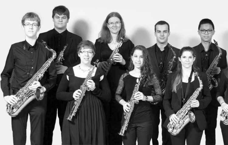 Ensemble de saxophones_Guy Goethals