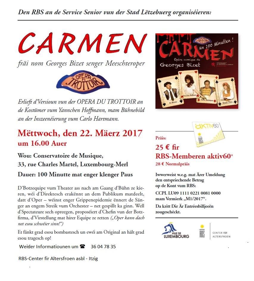 Carmen Conservatoire