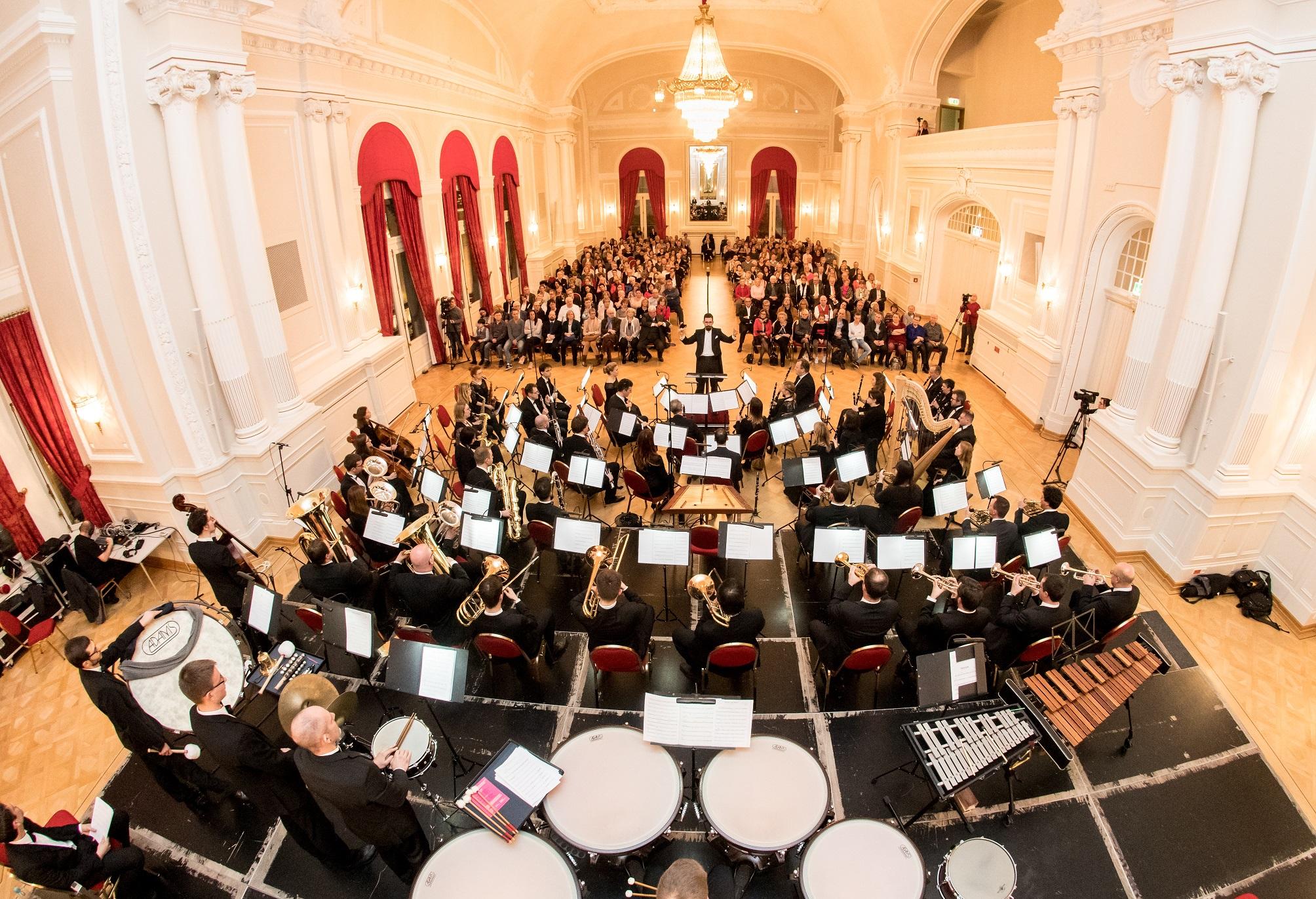 Luxembourg Wind Orchestra - concert de Nouvel An - Neijoersconcert - Philippe Noesen - Cercle Luxembourg - 06.01.2018 © claude piscitelli